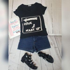 Zara Hair & Makeup Black Skirt 🖤